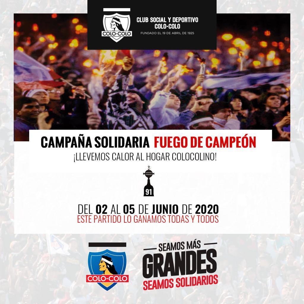 """Campaña """"Fuego de campeón"""""""