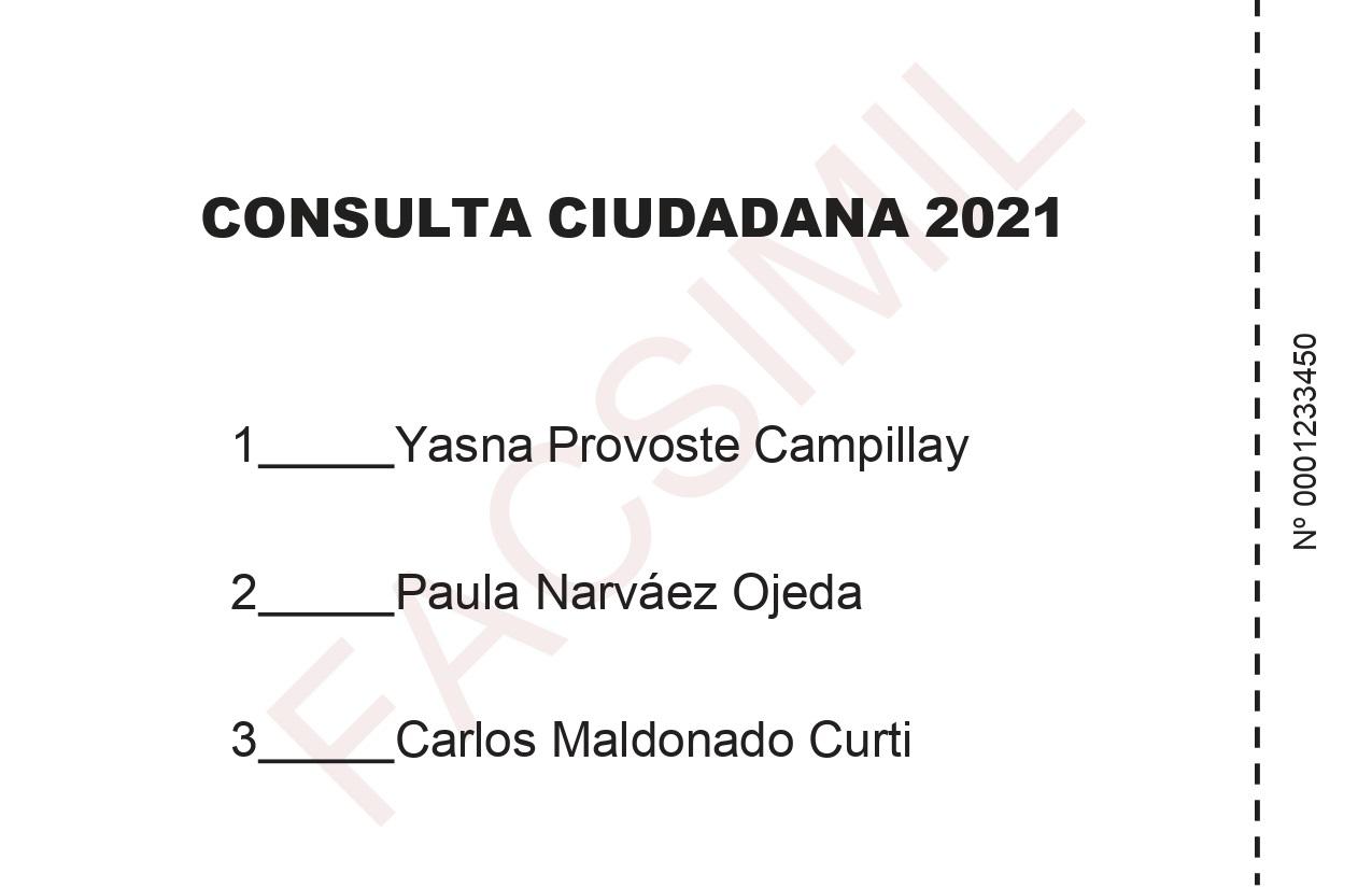 Voto, Consulta Ciudadana